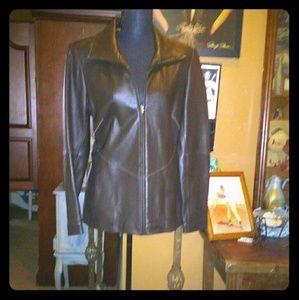 Jones of New York LEATHER jacket
